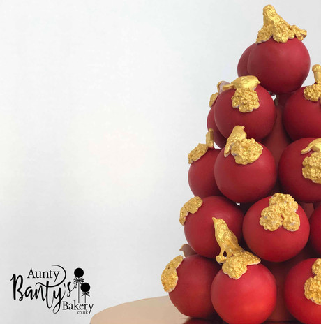Love Birds Cake Pops Tower Image 3 with