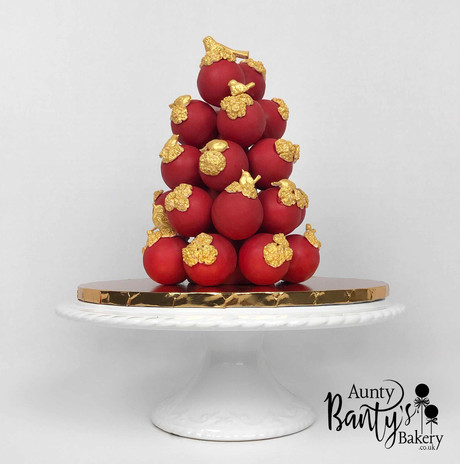 Love Birds Cake Pops Tower Image 2 with
