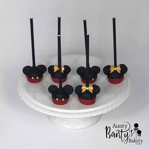 Mickey & Minnie Cake Pops