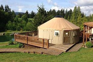 Merridale Yurt
