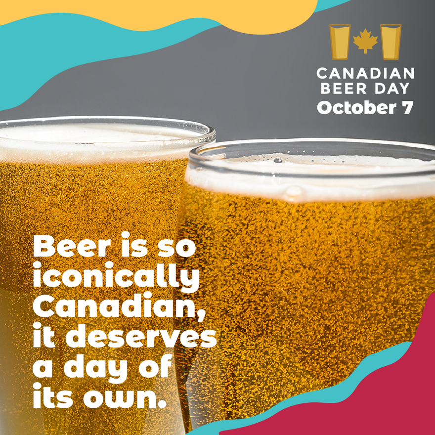 Celebrate Canadian Beer Day