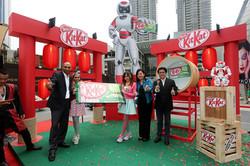 Kit Kat Green Tea Launch