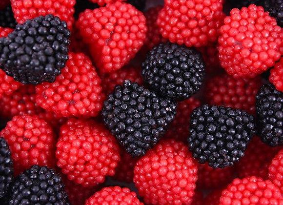 Red & Black Raspberries Gummies