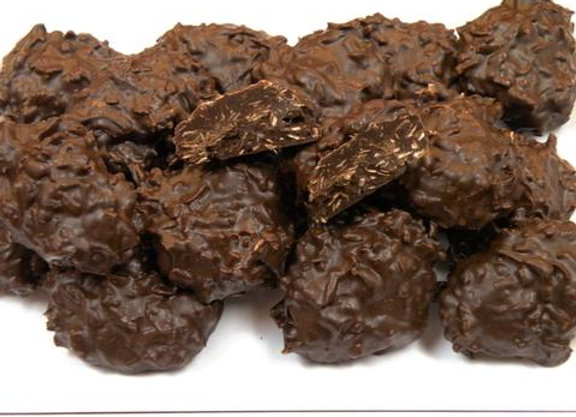 Coconut Cluster Dark Chocolate