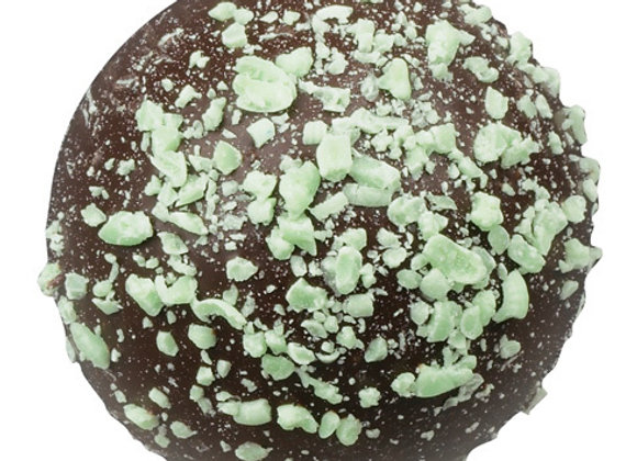 Mint Dark Chocolate Truffles