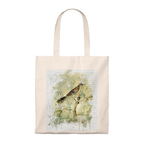 Tote Bag - Vintage Bird Collage