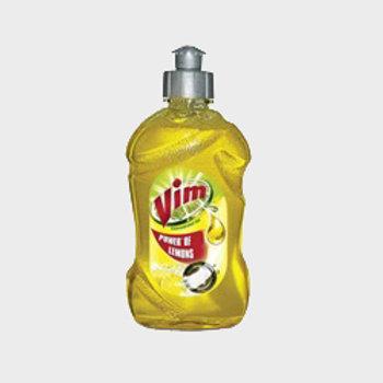 Vim Dishwash Liquid Lemon