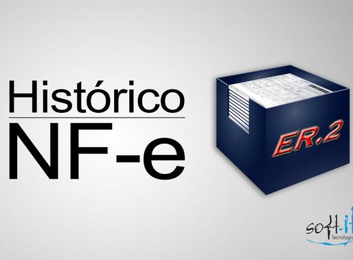 Novidade no ER2: Histórico da NF-e