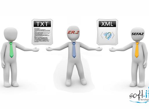 Novidade no ER2: Emissão de NF-e de Importação com arquivo TXT
