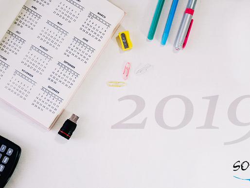 Calendário 2019: obrigatoriedades e prazos