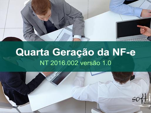 Publicada a NT 2016.002 versão 1.0 - A quarta geração da NF-e