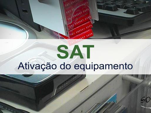 SAT – Ativação de equipamentos até 23/02