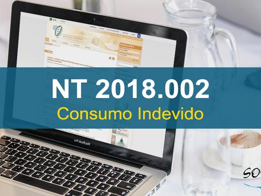 Publicada NT 2018.002 - Novos controles sobre Consumo Indevido