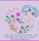 Purple Floral Valentine's Day Facebook P