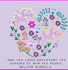 Purple Floral Valentine's Day Facebook P