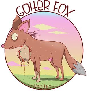 Goiter Fox