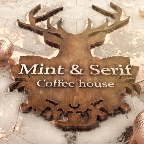 Mint & Serif Brand artwork