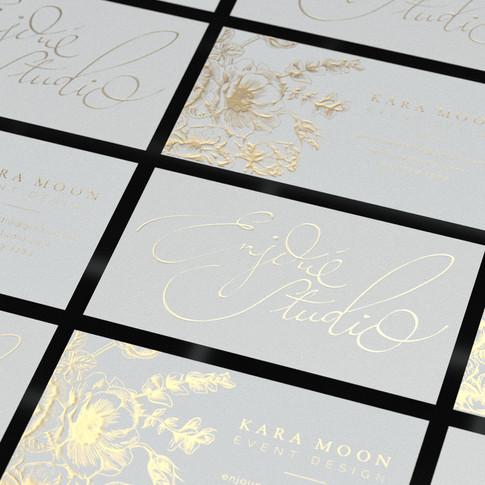Letterpress & Foil cards