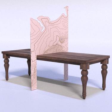 Table divider concept.
