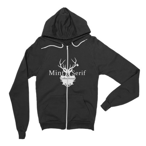 Mint & Serif Hoody
