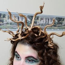 DIY Medusa Headband Tutorial