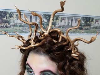 DIY Medusa Headband Tutorial