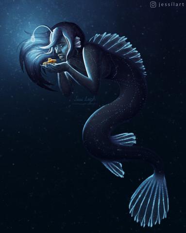 Angler-Mermaid