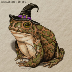 Witchy Toad