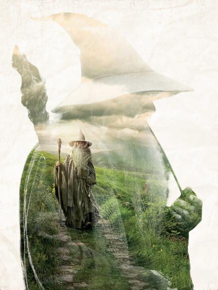 Gandalf Silhouette