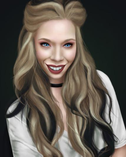 Grav3yard Girl Portrait