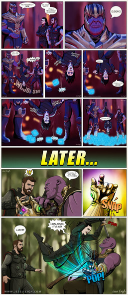 Infinity War Rewrite