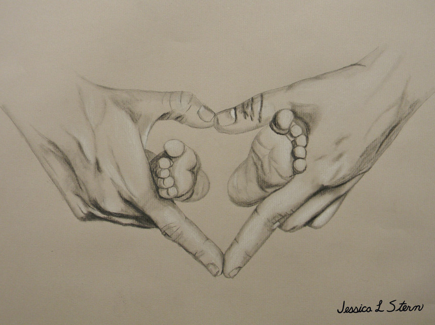 Baby Feet with Hands