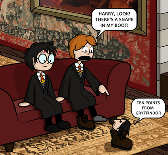 Snape in My Boot