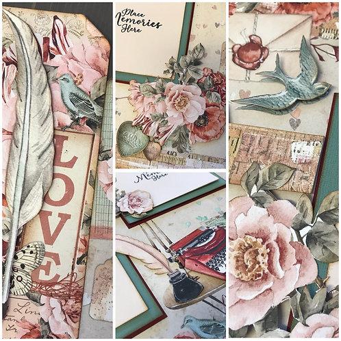 """Love Letters"" Double Layout Kit"