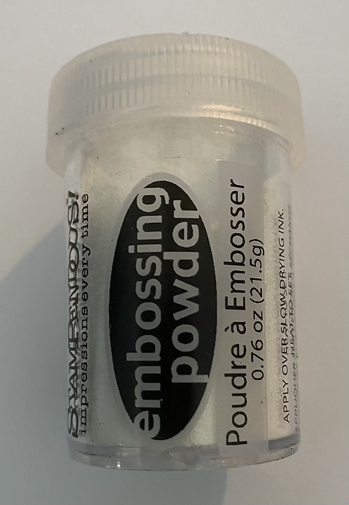 Stampendious Embossing Powder - Detail white
