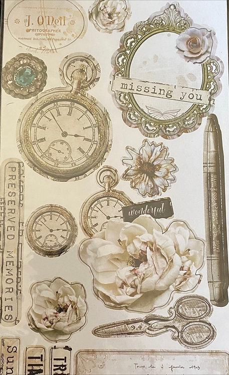 Stamperia - Journal Chipboard