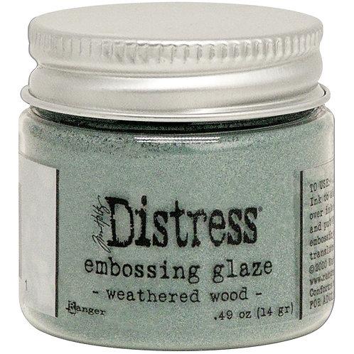 Tim Holtz Distress Embossing Glaze - Weathered Wo