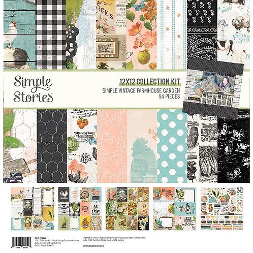 Simple Stories - Simple Vintage Farmhouse Garden - 12x12 Collection Kit