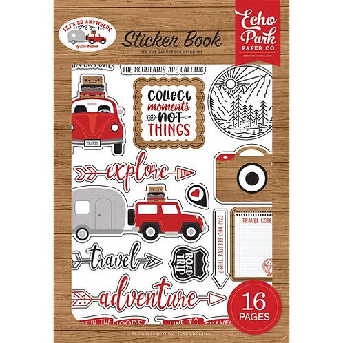 Echo park - Let's Go Anywhere Sticker Book