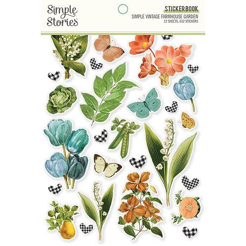 Simple Stories - Simple Vintage Farmhouse Garden - Sticker Book