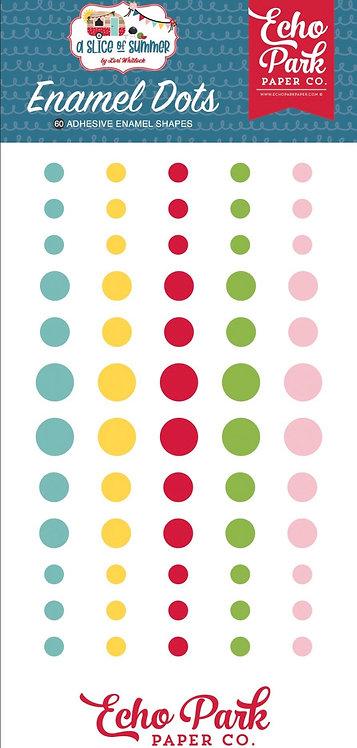 Echo Park - A Slice Of Summer Enamel Dots