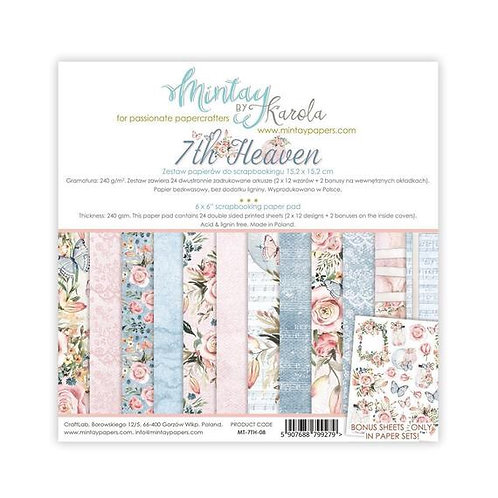"Mintay Papers - 7th Heaven 6"" x 6"" Paper Pad"