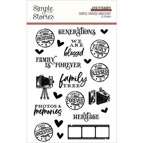 Simple Stories - Simple Vintage Ancestry - Stamps