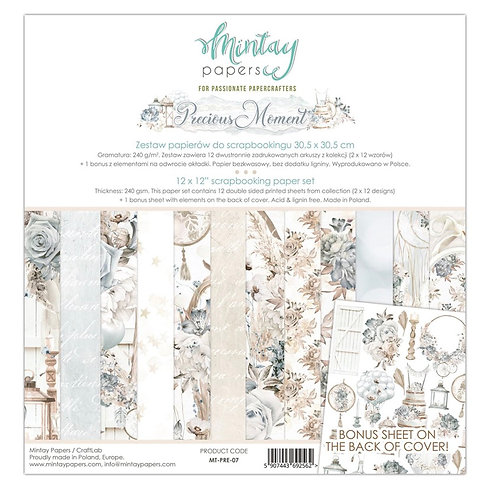 """Mintay Papers - 12""""x12"""" Precious Moment Paper Collection"""