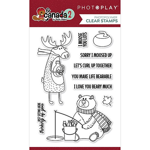 Photoplay Photopolymer Clear Stamps - O Canada 2
