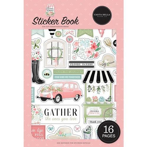 Carta Bella - Flower Garden Sticker Book