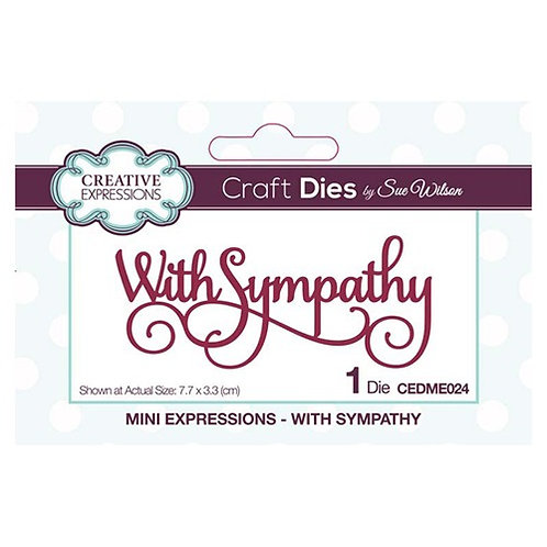 Creative Expressions Craft Dies - With Sympathy