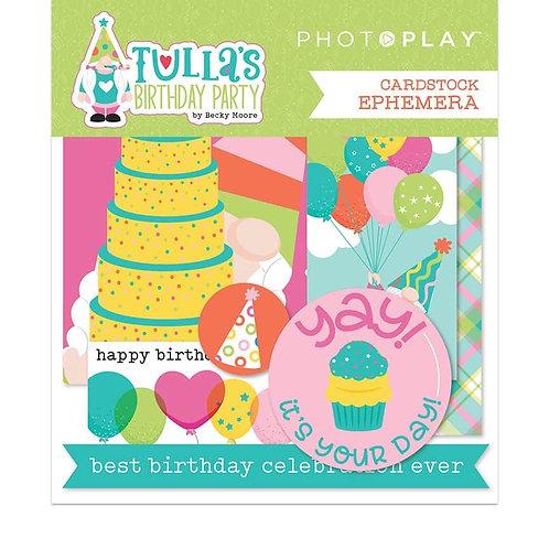 Photoplay - Tulla's Birthday Party Ephemera