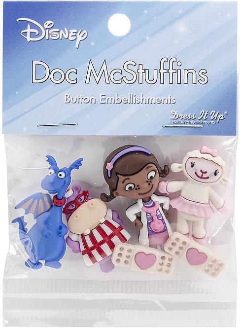 Doc McStuffins Buttons - Disney