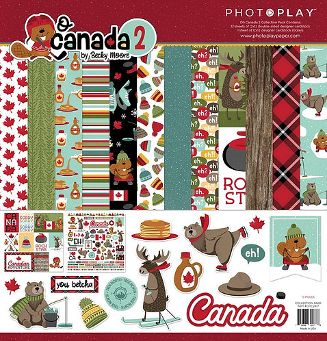 Photoplay- O Canada 2 Collection Kit
